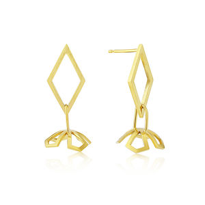 Star Lotus Jimikki Stud Earrings