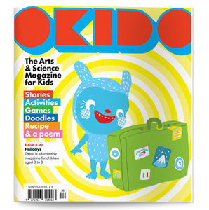 Okido Magazine Issue 30 All About Holidays - activity & colouring books