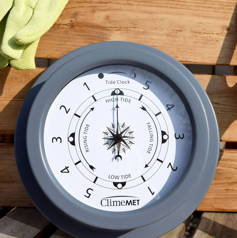 tide clock by climemet notonthehighstreetcom