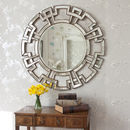 Atticus Round Decorative Mirror