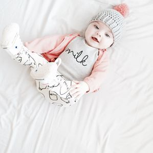'Milk' Sweatshirt - unisex baby gifts
