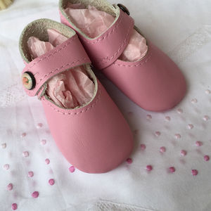 Leather Pram Shoes - clothing