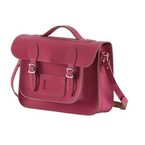 Leather Satchel Medium Lanyon - satchels
