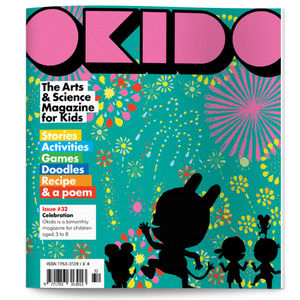 Okido Magazine Issue 32 All About Celebrations - colouring books