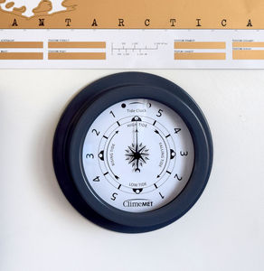 Tide Clock - living room