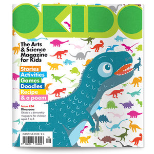 Okido Magazine Issue 34 All About Dinosaurs