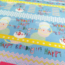 Gift wrap - birthday
