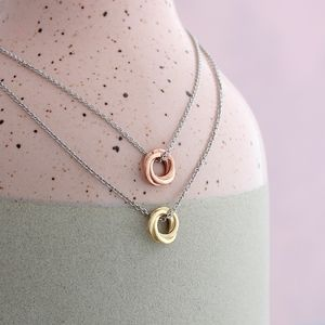 Petite Russian Ring Necklace - jewellery gifts for friends