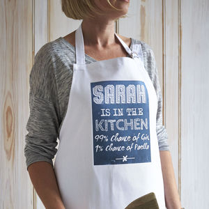 Chance Of… Apron - aprons
