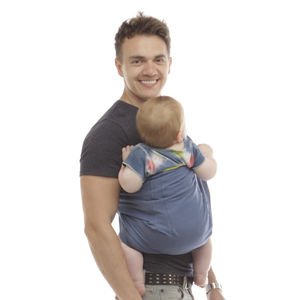 Solid Colour Reversible Pouch - gifts for new dads