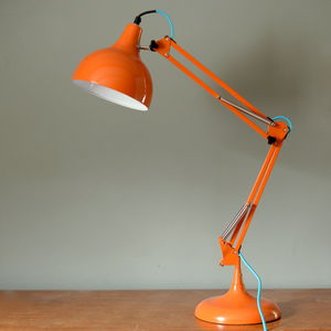 Large Clementine Angled Desk Lamp - lighting