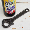 Dad's Cast Iron Spanner Bottle Opener