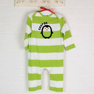 Personalised Organic Babygro Penguin - view all sale items