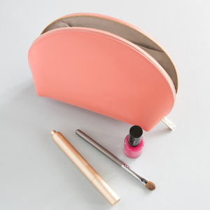 Leather Make Up Bag - gifts for her