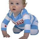 Personalised Organic Babygro Or Tshirt With Rocket