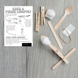 Make Your Own Pirate Catapult Kit - toys & games
