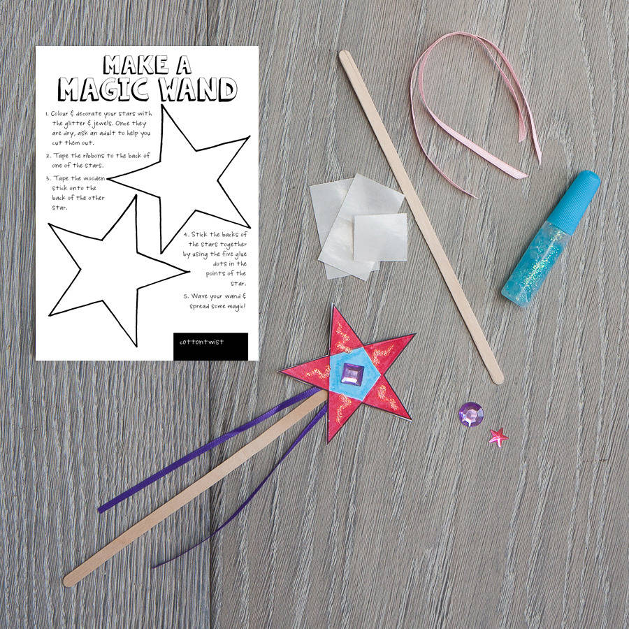 Make your own magic wand kit for Wand making kit