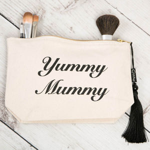 Yummy Mummy Make Up Bag - gifts for mums-to-be