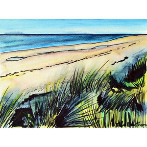 Thornham Dunes View - canvas prints & art