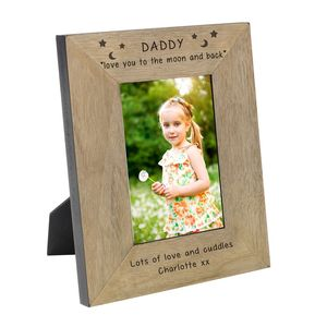 Personalised Photo Frame For Daddy