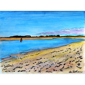 Wells At Low Tide - canvas prints & art