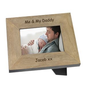 Me And My Daddy Photo Frame - picture frames