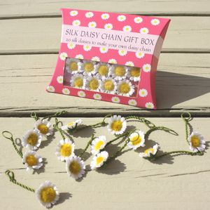 Gift Box Of 20 Silk Daisies