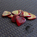 Stone Tones Guitar Plectrums In A Gift Tin