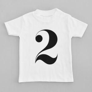 Child's Wonder Years 'Two' T Shirt - t-shirts & tops