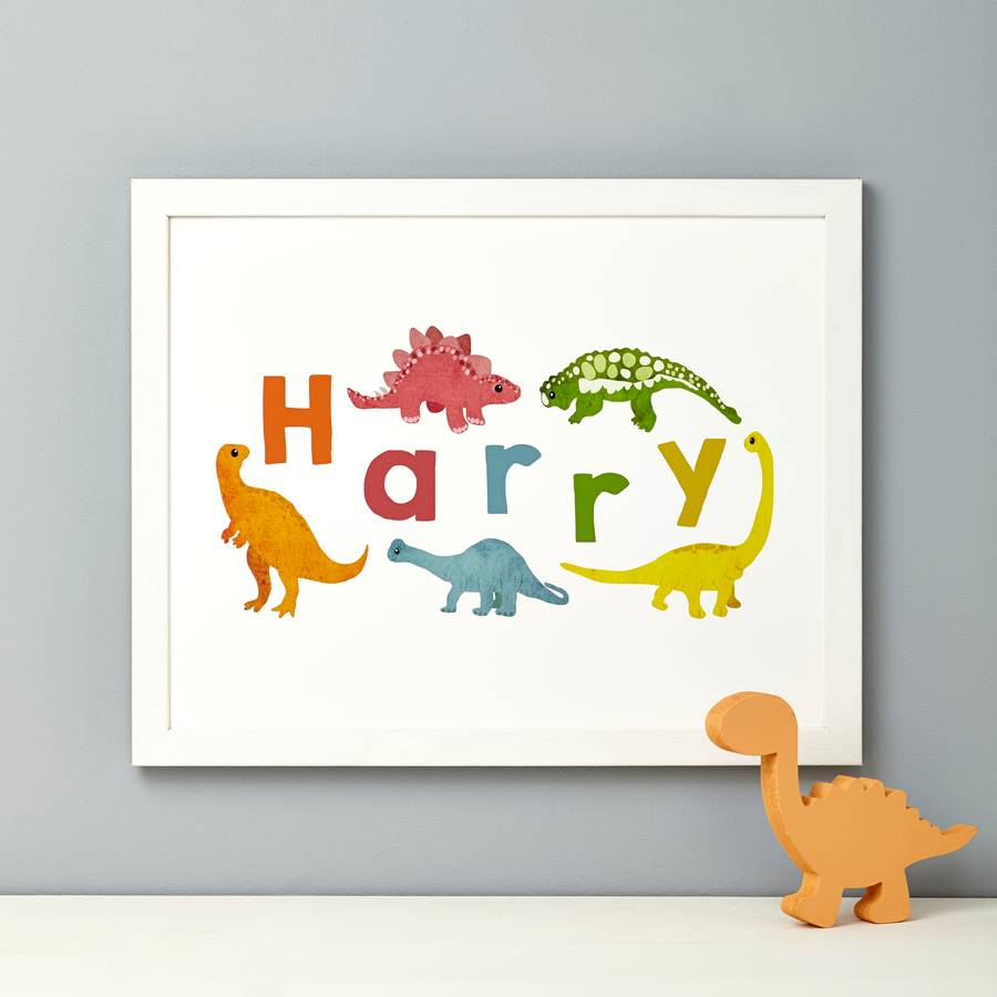 ... Dinosaur Bedroom Decor And Accessories Notonthehighstreet Com