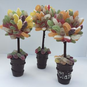 Personalised Fizzy Pick And Mix Sweet Tree