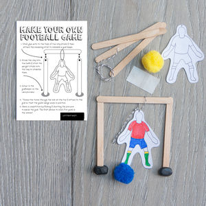 Make Your Own Football Game Kit - toys & games