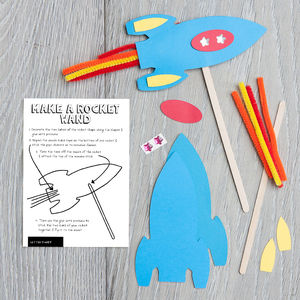 Make A Rocket Wand Kit - wedding day activities