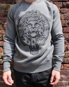 Lion Crest Sweatshirt - men's fashion