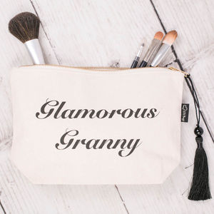 Glamorous Granny Make Up Bag - gifts for grandparents