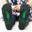 Personalised Peas In A Pod Women's Socks