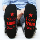 Personalised Christmas Mens Socks