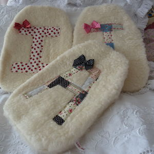 Personalised Vintage Style Hot Water Bottle