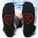 Personalised You Tickle My Fancy Men's Socks
