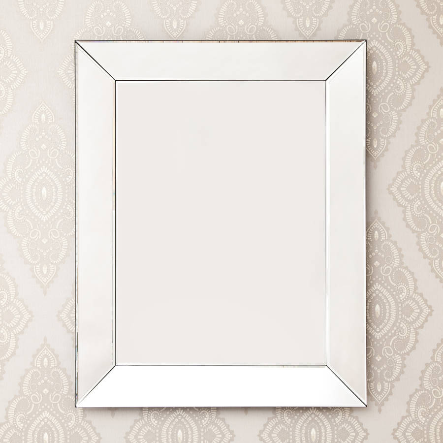 Classic plain venetian mirror by decorative mirrors online for Ornamental mirrors
