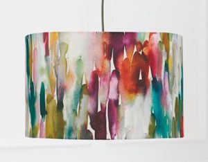 Watercolour Lampshade