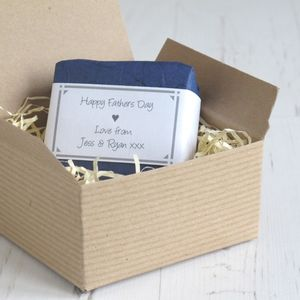 Personalised Father's Day Soap - men's grooming & toiletries