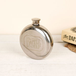 Dapper Chap Wet Your Whistle Hip Flask