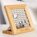'Hive' Personalised Cufflink Stand
