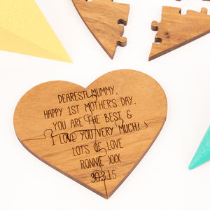 First Mother's Day Jigsaw Card - gifts for new mums