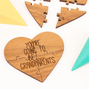You're Going To Be Grandparents - pregnancy announcements
