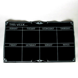 Week Planner Chalkboard Sticker - kitchen accessories