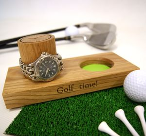Golf Watch Stand - watch storage