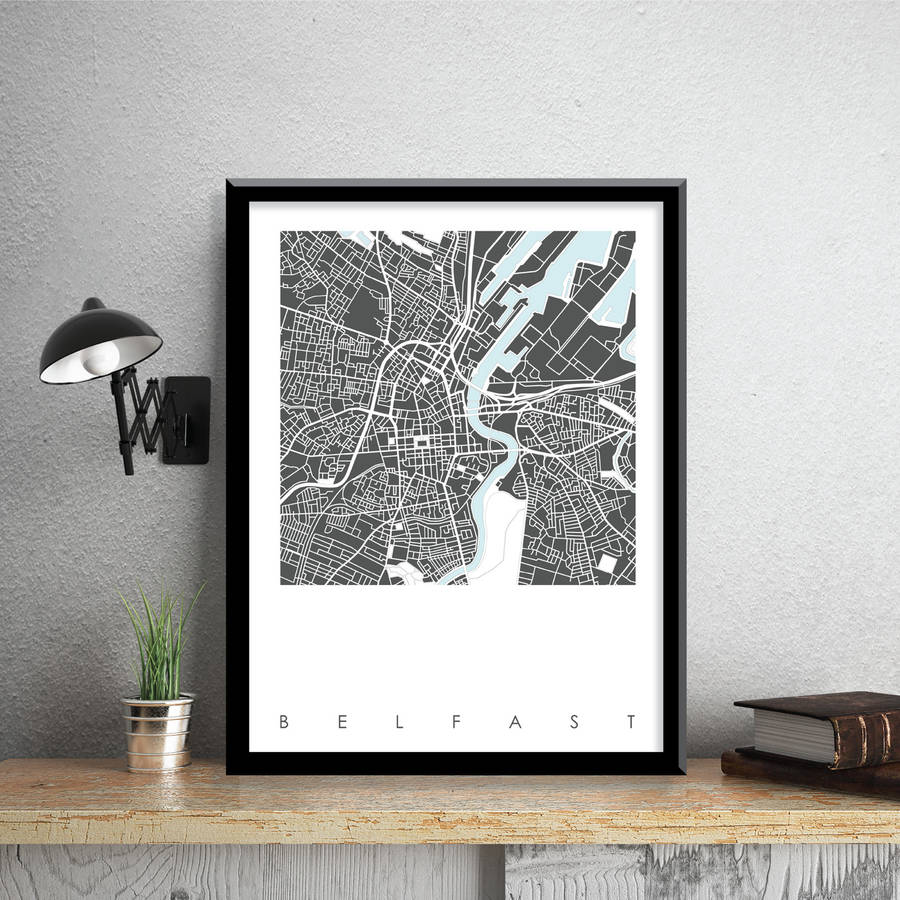 Prints Of Belfast Black And White