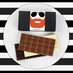 Daddy Cool Bearded Chocolate Bar Box Set - chocolates